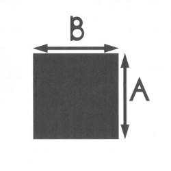 RVS vierkant massief